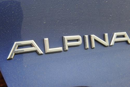 アルピナ ALPINA  B3S 磨きコーティング 施工画像