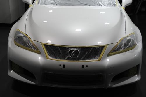 レクサス LEXUS IS-Fガラスコーティング磨き