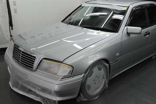 C36 AMG ガラスコーティング