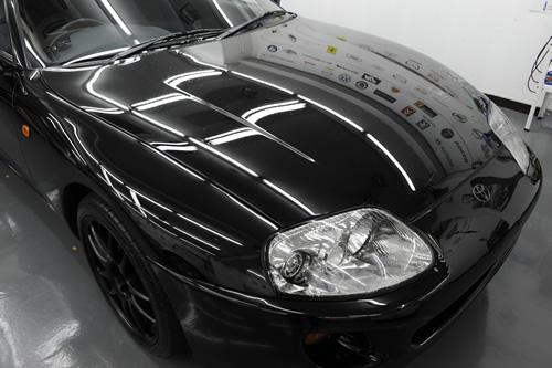 トヨタ スープラ JZX80 ガラスコーティング