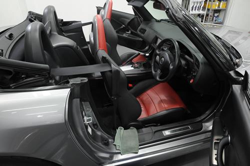 ホンダ HONDA S2000 AP1 磨きコーティング 施工画像