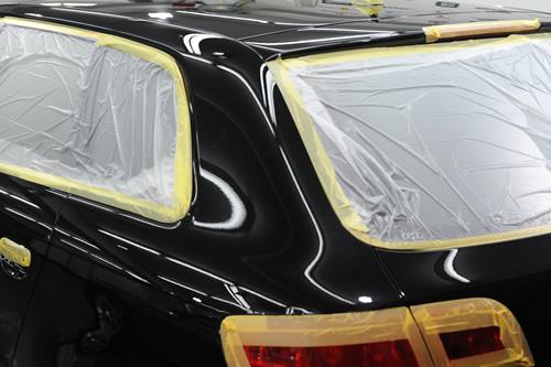 アウディ Audi A3スポーツバックガラスコーティング