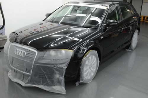 アウディ Audi A3 スポーツバックガラスコーティング