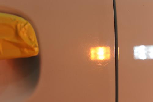 スズキ ラパンSS 磨きガラスコーティング画像