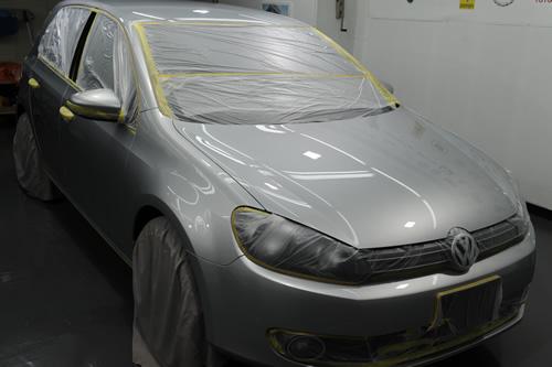 ゴルフ6 VW 磨きガラスコーティング