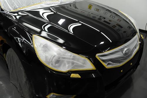 スバル SUBARU レガシィツーリングワゴン 磨き コーティング 施工画像