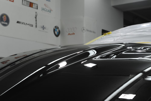 フェラーリ Ferrari 599GTOガラスコーティングコーティング 磨き施工画像