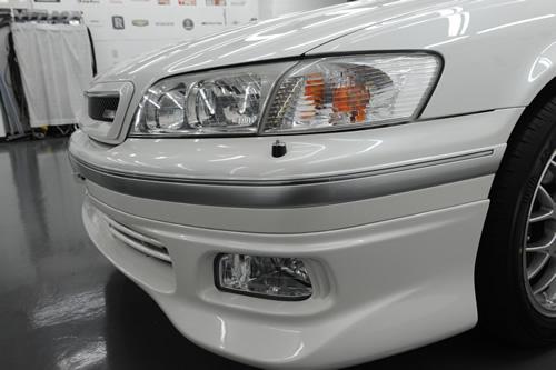 トヨタ TOYOTA クオリスガラスコーティングコーティング施工画像