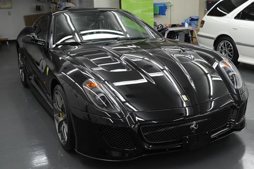 フェラーリ Ferrari 500GTO コーティング施工画像