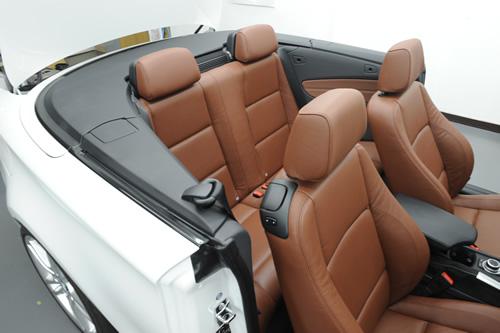 BMW 120iカブリオレ施工画像