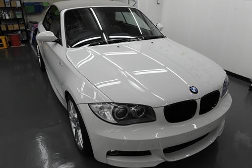 BMW 120i カブリオレ MSP施工画像