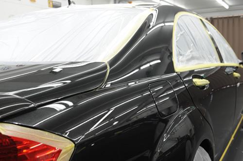 S65AMG磨きコーティング施工画像