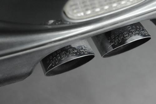 ミニクーパーS R50 磨きガラスコーティング画像