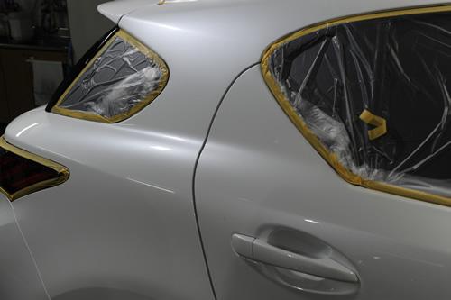 CT200 レクサス 磨きガラスコーティング画像