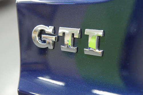 VW GOLF GTI施工画像