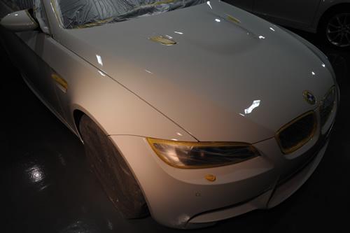 E92 BMW M3 磨きガラスコーティング画像