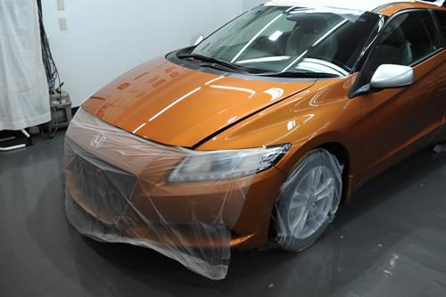 ホンダ CR-Z 磨きガラスコーティング 施工画像