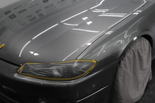 日産 NISSAN シルビア S15 施工画像