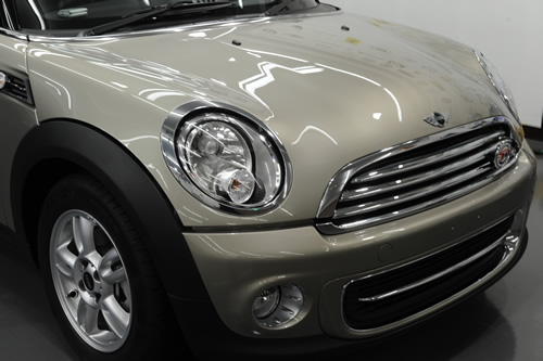 BMW MINI ミニ ガラスコーティング施工画像