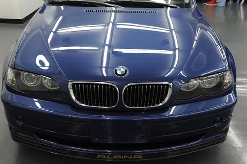 アルピナ ALPINA B3Sガラスコーティング画像
