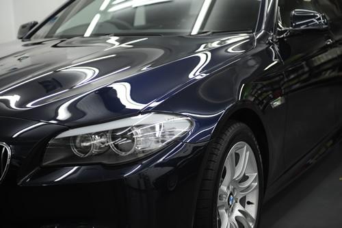 BMW F11 523ツーリングMSP磨きガラスコーティング画像