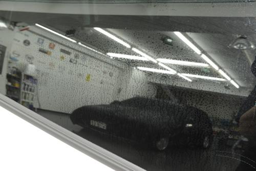 ダイハツ ソニカ ガラスコーティング 施工画像