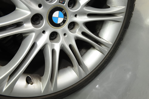 BMW E61 525 MSP 施工画像