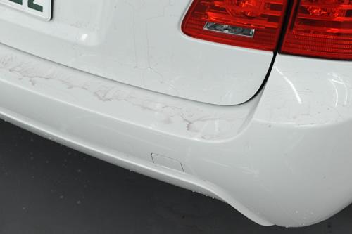 BMW E61 525 ガラスコーティング 施工画像