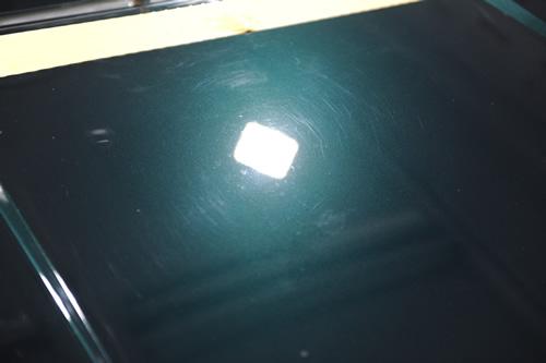 ゴルフカブリオレ磨きガラスコーティング画像