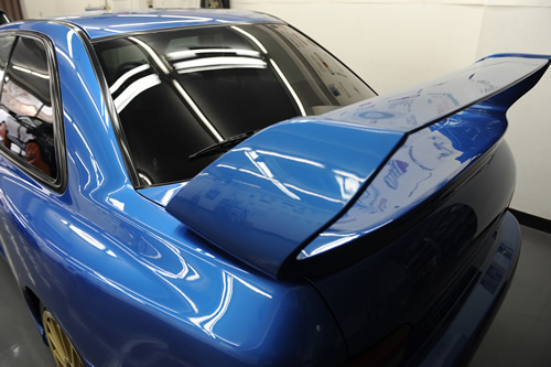 インプレッサ 22B ガラスコーティング施工画像