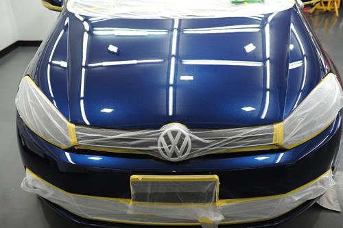 VW ゴルフ 磨き施工画像