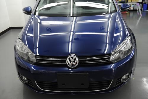 VW ゴルフコンフォートライン施工画像