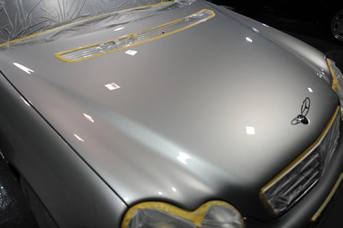 C230 W204磨きガラスコーティング画像