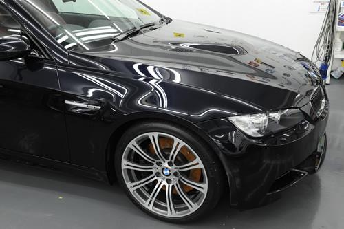 BMW E92 M3 クーペ ガラスコーティング 施工画像