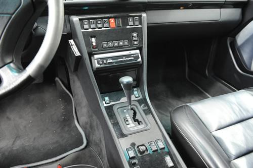 メルセデス ベンツ W124 E500施工画像