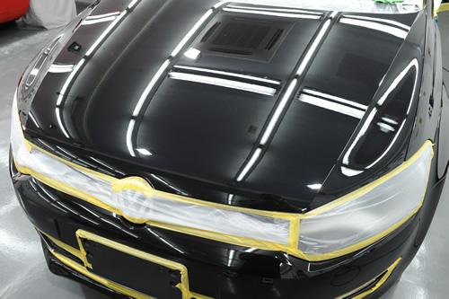VW ポロ ガラスコーティング 施工画像