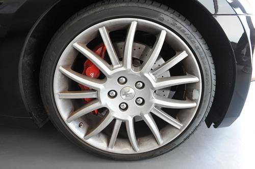 マセラティ Maserati グラントゥーリズモ GranTurismo S ガラスコーティング 施工画像