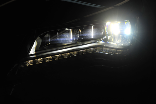 アウディ A7スポーツバックガラスコーティング画像