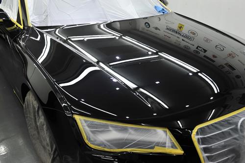 アウディ A7スポーツバックガラスコーティング画像ポリッシュファクトリー