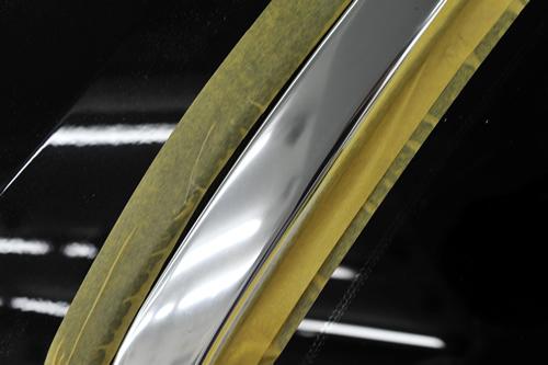 ボルボXC90磨きガラスコーティング画像