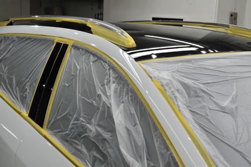 ルノー・メガーヌ エステートGT|磨きガラスコーティング画像