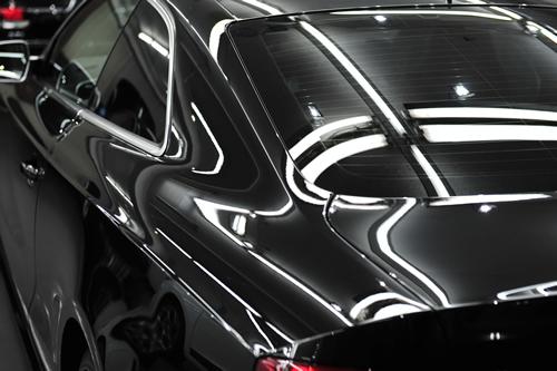 アウディS5|磨きガラスコーティング画像