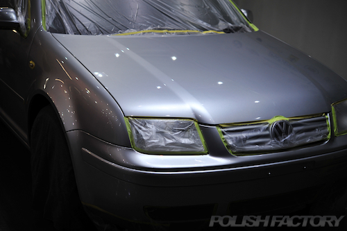 VWボーラV5_磨きガラスコーティング画像