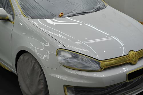 GOLF-GTI|磨き施工画像