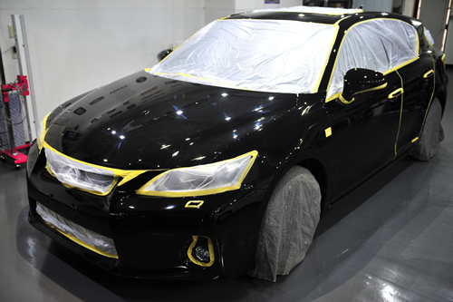 レクサCT200Fsport|磨きガラスコーティング