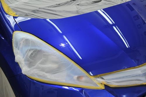 ホンダフィット|磨きガラスコーティング画像