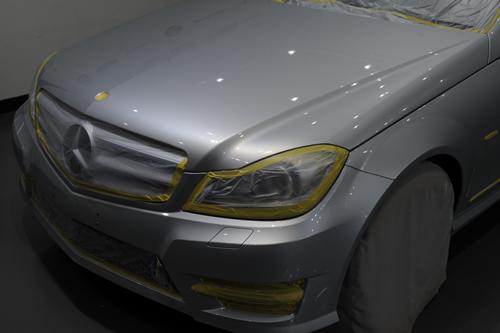メルセデスベンツC200Cクラスステーションワゴン|磨きボディーガラスコーティング画像