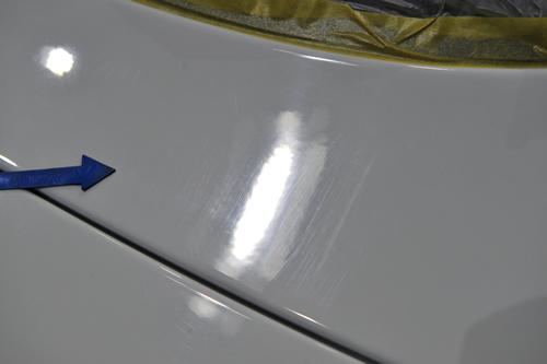 TTクーペ|ボディガラスコーティング画像