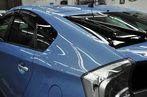 プリウスプラグインハイブリッドPHV|新車磨きボディーコーティング画像