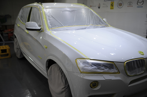 BMWX3-2_nt.8MSP|磨きボディーガラスコーティング施工画像